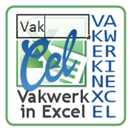Vakwerk in Excel
